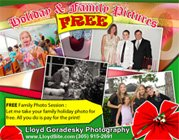 FREE Holiday shoot!